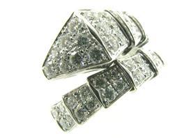 BVLGARI(ブルガリ セルペンティ M ダイヤモンド リング 指輪