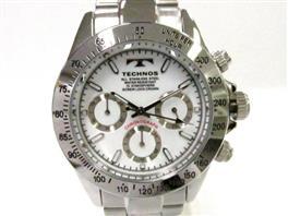 TECHNOS(テクノス テクノス クロノグラフ 腕時計 ウォッチ TSM401SW