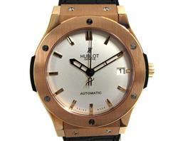 HUBLOT(ウブロ クラシックフュージョン オパーリン 裏スケルトン 腕時計 ウォッチ
