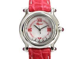 Chopard(ショパール ショパール ハッピースポーツ 5Pダイヤ ウォッチ 腕時計 27/8245-21