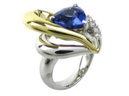 JEWELRY(ジュエリー ジュエリー タンザナイト ダイヤモンド リング 指輪