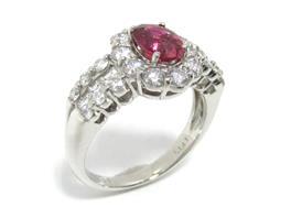 JEWELRY(ジュエリー ジュエリー ダイヤモンド 非加熱ルビーリング 指輪