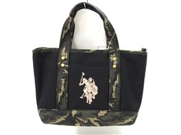U.S. POLO ASSN.(ユーエス・ポロ・アッスン ユーエス・ポロ・アッスン ユーエスポロアソシエーション バッグ  トートバッグ 1862BKCF