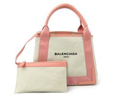BALENCIAGA(バレンシアガ ネイビーキャンバス トートバッグ 2016SS