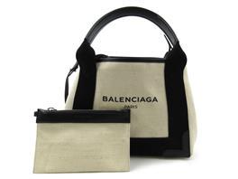 BALENCIAGA(バレンシアガ ネイビーカバス 2way ショルダーバッグ トートバッグ 2016SS