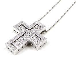 DAMIANI(ダミアーニ ベルエポック クロス ダイヤモンド ネックレス