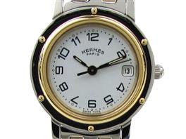 HERMES(エルメス クリッパー ウォッチ 腕時計 レディース
