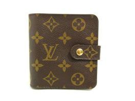 LOUIS VUITTON(ルイヴィトン コンパクト・ジップ ラウンド 折財布