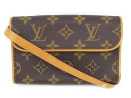 LOUIS VUITTON(ルイヴィトン ポシェット・フロランティーヌ ベルト(S)付 ウエストバッグ