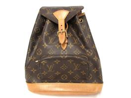 LOUIS VUITTON(ルイヴィトン ルイヴィトン モンスリMM リュックサック バックバッグ M51136