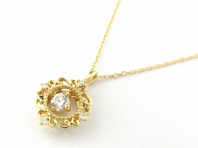 【おすすめ!】ダイヤモンド ネックレス/可愛い/おしゃれ/お買得/プレゼント