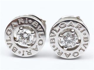 ブルガリ (BVLGARI) ブルガリブルガリ ダイヤモンド ピアス