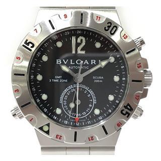 ブルガリ (BVLGARI) スクーバ GMT 腕時計 ウォッチ SD38SGMT