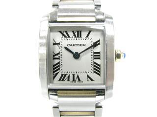 カルティエ (Cartier) タンクフランセーズSM 腕時計 ウォッチ W51007Q4