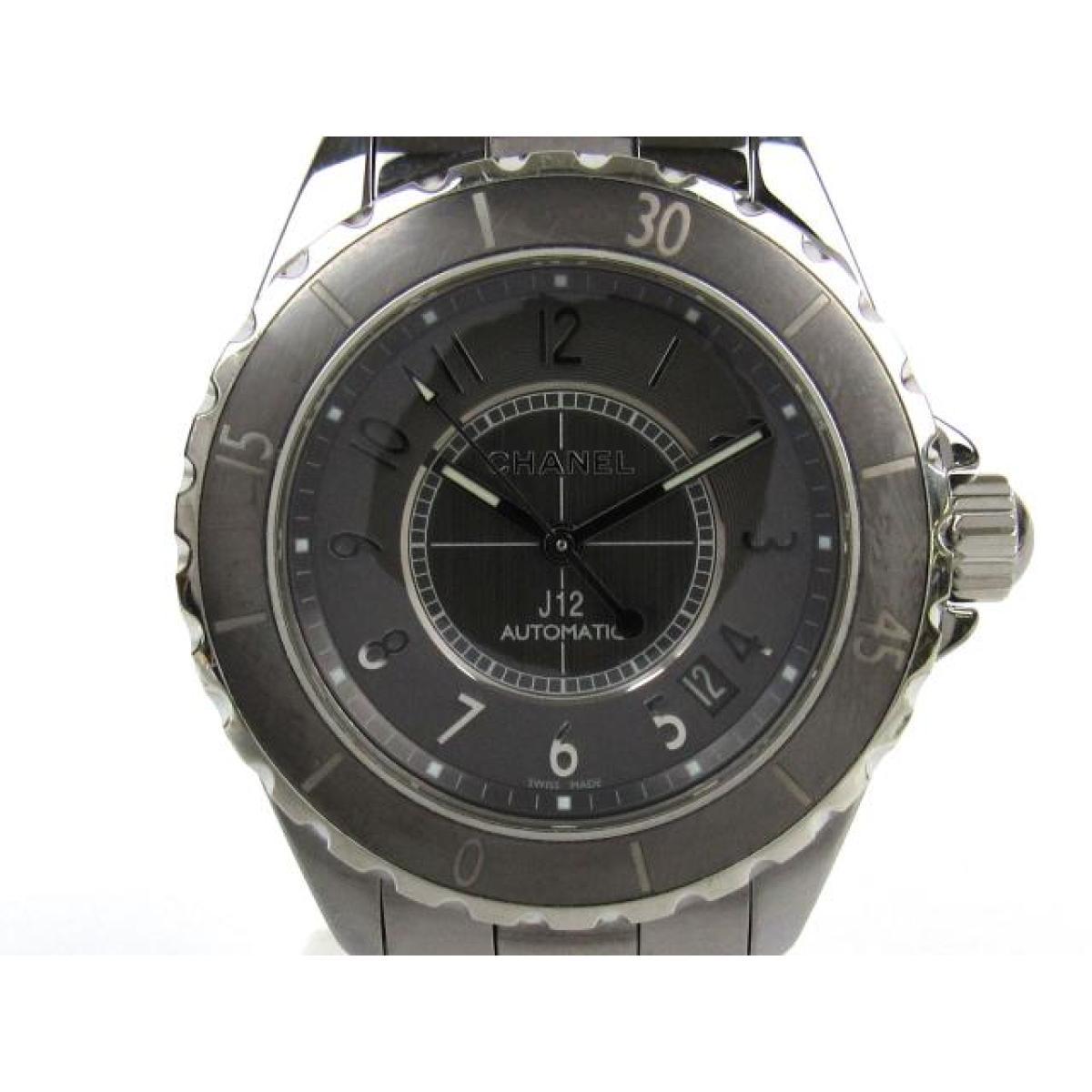 the latest a07a8 7f8cc シャネル J12 クロマティック ウォッチ 腕時計 メンズ