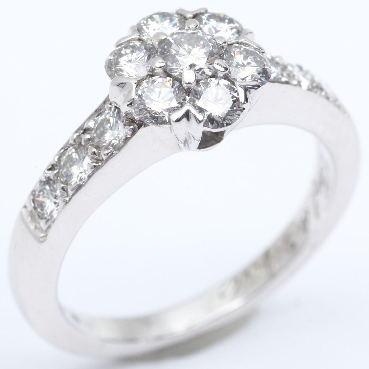 フルーレットダイヤモンド リング 指輪/SALE/激安/おしゃれ/プレゼント 9号