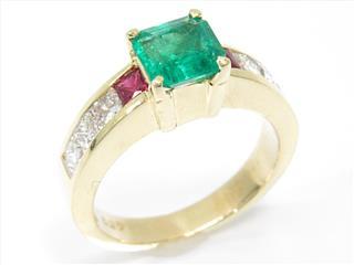 ジュエリー (JEWELRY) エメラルドリング 指輪