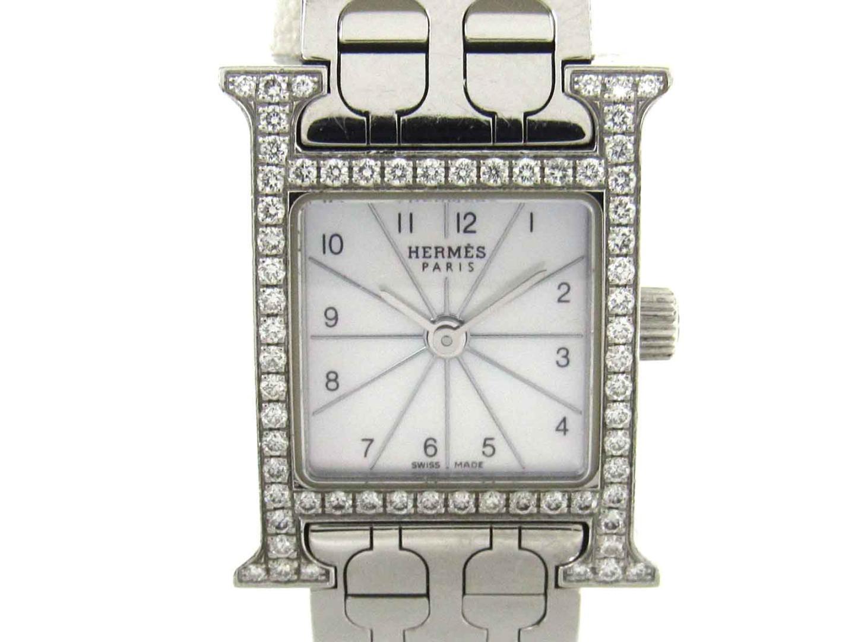 Hウォッチミニ ダイヤモンド / 腕時計/レディース/お洒落