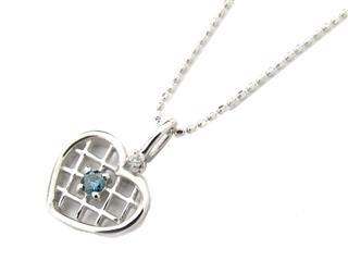 ジュエリー (JEWELRY) ブルーダイヤモンド ネックレス