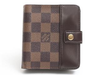 ルイヴィトン (LOUIS VUITTON) コンパクト・ジップ 財布 N61668