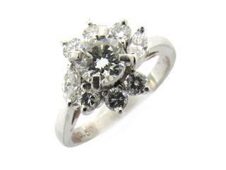 タサキ (TASAKI) ダイヤモンド リング 指輪