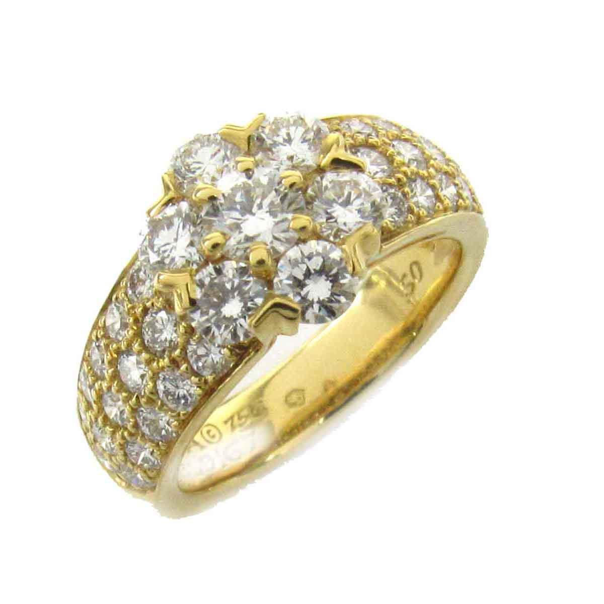 フルーレット ダイヤモンド リング 指輪/可愛い/お買得/特価/激安 #50/9.5号