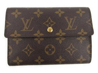 ルイヴィトン (LOUIS VUITTON) ポルトトレゾール・エテュイパピエ 三つ折財布 ケースなし M61202