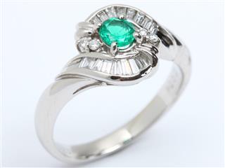 ジュエリー (JEWELRY) エメラルド ダイヤモンド リング 指輪