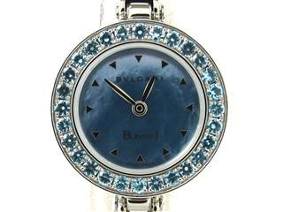 ブルガリ (BVLGARI) B-zero1 ビーゼロワン ブルートパーズベゼル ウォッチ 腕時計 レディース BZ22S