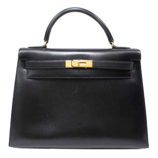 エルメス (HERMES) ケリー32 外縫いハンドバッグ
