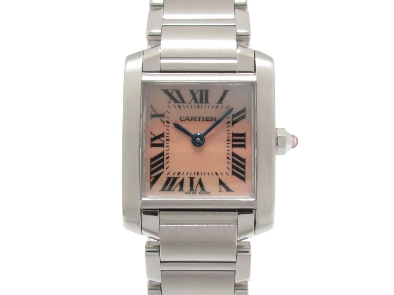 タンクフランセーズSM 腕時計/レディース/お洒落