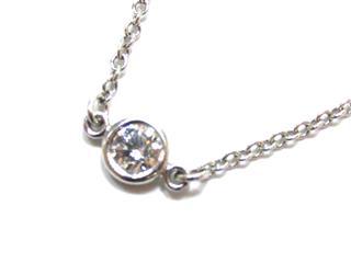ティファニー (TIFFANY&CO) バイザヤード1Pダイヤモンド ブレスレット
