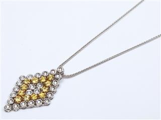 ジュエリー (JEWELRY) イエローサファイア ダイヤモンド ネックレス