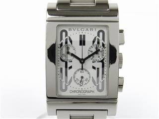 ブルガリ (BVLGARI) レッタンゴロ クロノ ウォッチ 腕時計 RTC49S