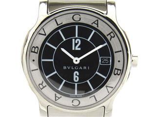 ブルガリ (BVLGARI) ソロテンポ ウォッチ 腕時計 メンズ ST35S