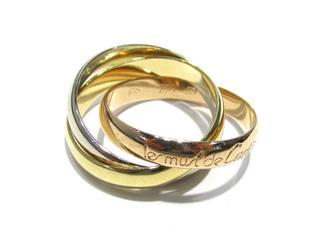 カルティエ (Cartier) トリニティリング 指輪