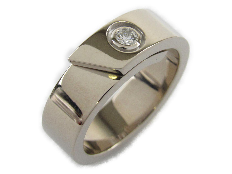 the latest 4b278 a7975 カルティエ アニバーサリーリング 1Pダイヤモンド リング 指輪