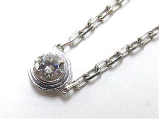 カルティエ (Cartier) ディアマン レジェ ドゥネックレス 1Pダイヤモンド