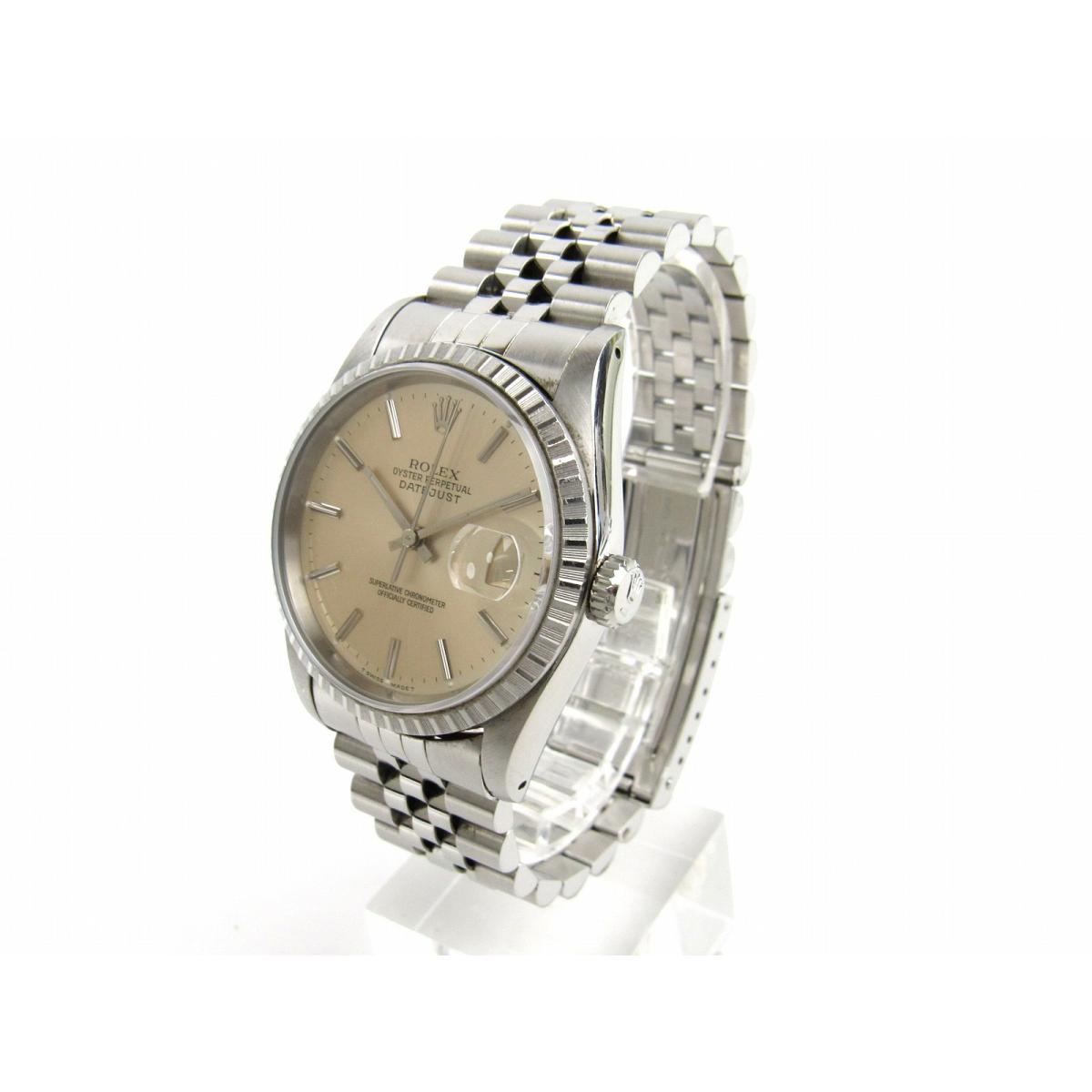 ROLEX 時計 16220 デイトジャスト/腕時計/メンズ