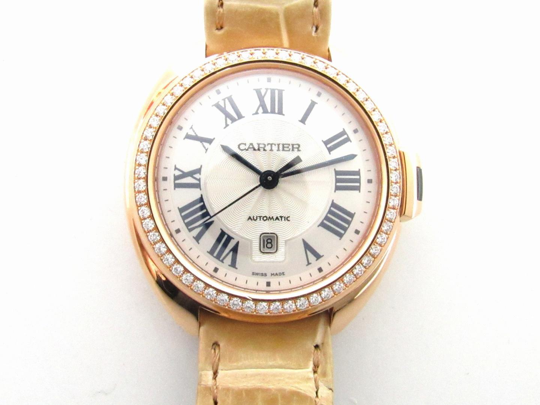 クレ ドゥ カルティエ ベゼルダイヤモンド/腕時計/お洒落