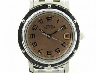 エルメス (HERMES) クリッパー ウォッチ 腕時計 CL4.210