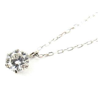 ジュエリー (JEWELRY) 一粒ダイヤモンド ネックレス 695822