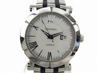 ティファニー (TIFFANY&CO) アトラスジェント 裏スケルトン ウォッチ 腕時計 Z1000.70.12