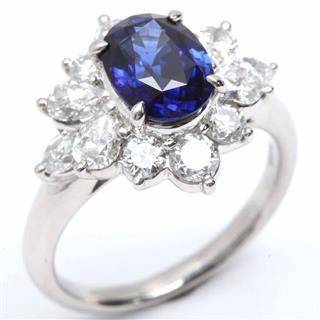 ジュエリー (JEWELRY) サファイア ダイアモンド リング 指輪