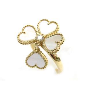 ヴァンクリーフ&アーペル (Van Cleef & Arpels) エフイヤージュ リング ダイヤモンド 指輪