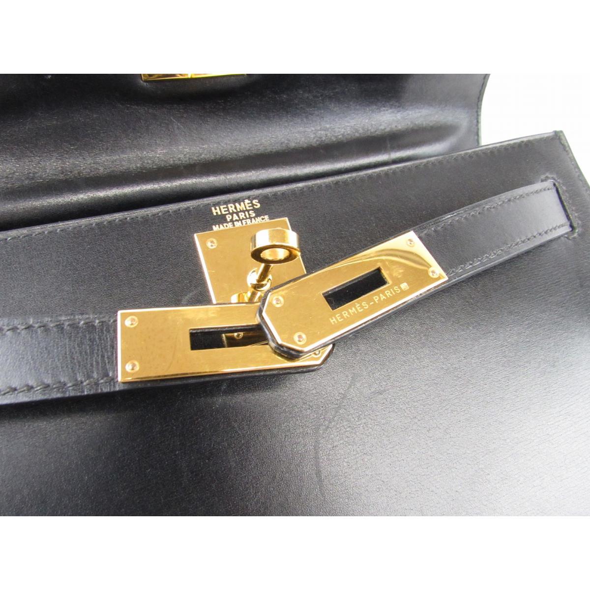 HERMES バッグ  ケリー28(外縫い)2wayハンドバッグ