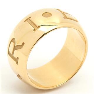 ブルガリ (BVLGARI) モノロゴリング 指輪