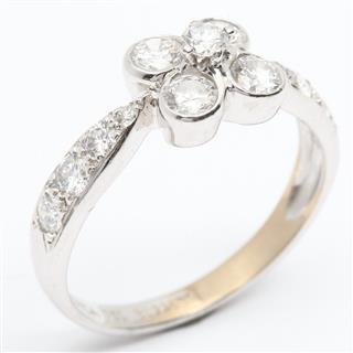 ヴァンクリーフ&アーペル (Van Cleef & Arpels) オンブレダイヤモンドリング 指輪