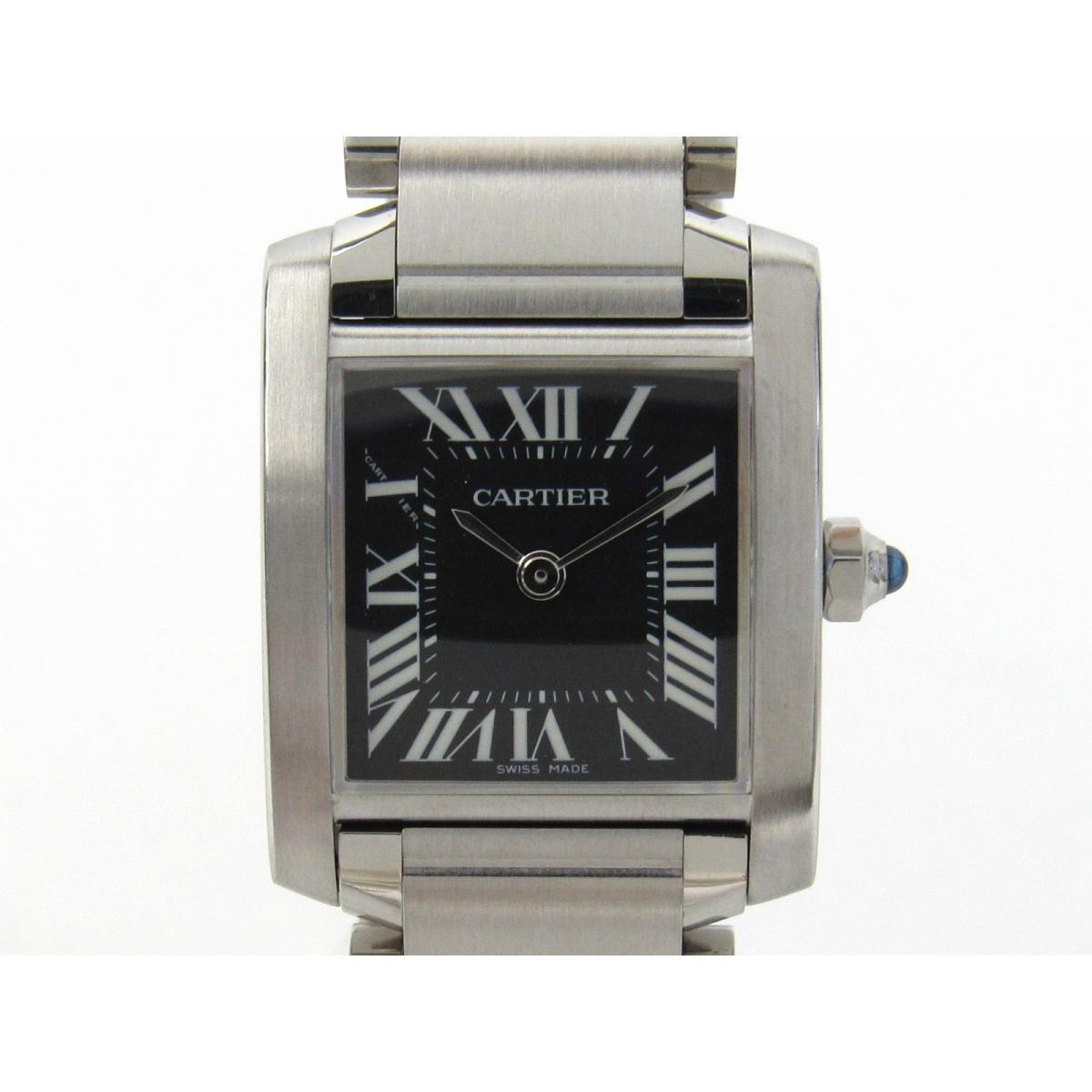 タンクフランセーズSM/腕時計/レディース