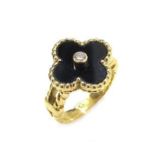 ヴァンクリーフ&アーペル (Van Cleef & Arpels) アルハンブラリング ダイヤモンド 指輪